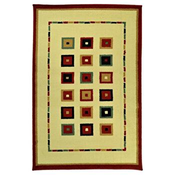 Covor Decorino Modern & Geometric C116-030213, 67 x 120 cm, polipropilena, Multicolor