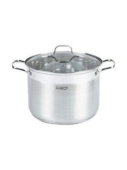 Oala inox + capac Cooking by HEINNER, 24x18cm, 8 L, Rina