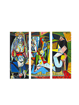 Tablou decorativ, Marvellous, 537MRV5173, 70 x 50 cm, MDF, Multicolor imagine