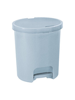 Cos gunoi cu pedala CURVER, 25 L, plastic, 36 x 41 x 36 cm, Gri