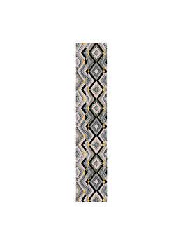 Traversa Decorino Modern & Geometric CT237-131217, 67 x 1000 cm, poliester, Multicolor