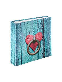Album foto Hama Rustico DoorKnock, 2167, 200 poze, 10 x 15 cm, Albastru imagine