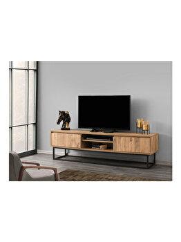 Comoda TV, Kalune Design, 180 x 40 x 50 cm, 854KLN3004, pal melaminat, Multicolor