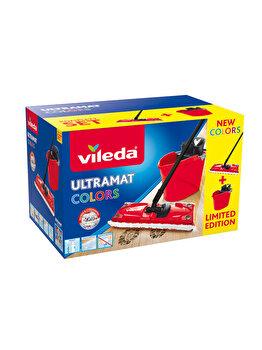 Set curatenie Ultramax, Vileda, 10 L, Rosu imagine