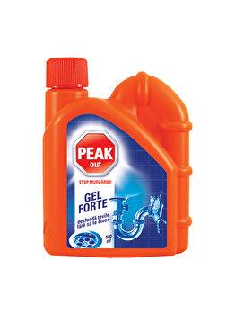 Solutie gel forte pentru tevi Peak Out, 500 ml imagine
