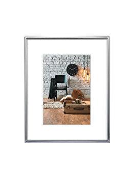 Rama foto Hama Sevilla Decor, 66432, A4, plastic, Argintiu imagine