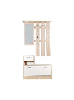 Set mobilier hol Filio UnicSpot, 90 x 24 x 75 cm, 90 x 22 x 116 cm imagine