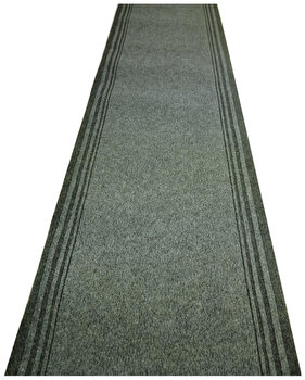 Traversa Decorino Unicolor CT229-130403, 100 x 1000 cm, polipropilena, Gri imagine