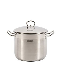 Oala inox + capac Cooking by HEINNER, 24x19 CM, 8.6 L, Imperia imagine 2021
