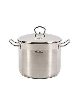 Oala inox + capac Cooking by HEINNER, 24x19 CM, 8.6 L, Imperia