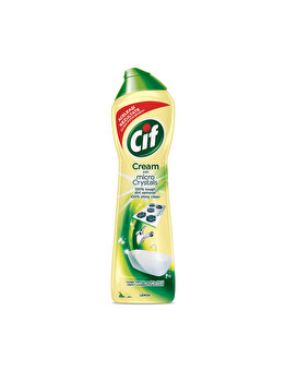 Cif Cream Lemon, crema de curatat suprafete dure, 700 ml imagine