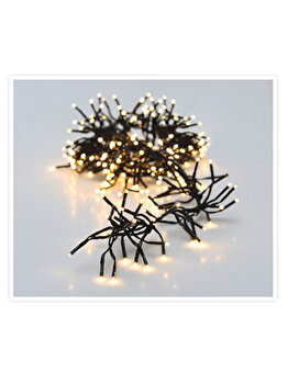 Instalatie luminoasa Koopman Int., 384 LED-uri, 2.35 m, plastic, Galben