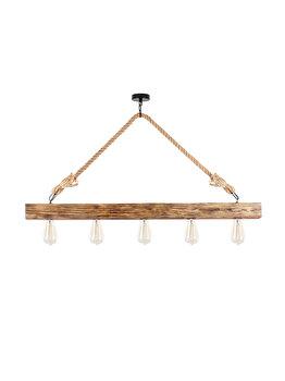 Candelabru Sheen Erebos - 106-AV, corp din lemn imagine