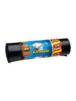 Saci menajeri Power LDPE, Fino, 240L, 8 buc imagine