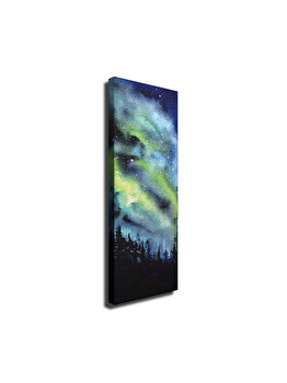 Tablou decorativ, Vega, 265VGA1456, 30 x 80 cm, CANVAS, Multicolor imagine