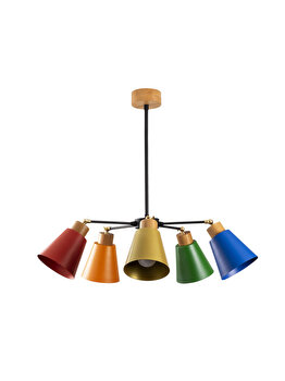 Candelabru Alby Manavgat - N-541, multicolor imagine
