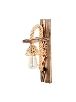 Aplica de perete Sheen Erebos - 117-A, corp din lemn imagine
