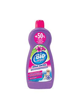 Sampon curatare covoare Biocarpet, odor control, 750 ml imagine