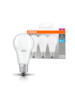 Set 3 becuri Led Osram, E27, 14W, 1521 lumeni, lumina neutra imagine