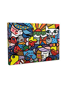Tablou decorativ, Vega, 265VGA1335, 30 x 40 cm, CANVAS, Multicolor imagine