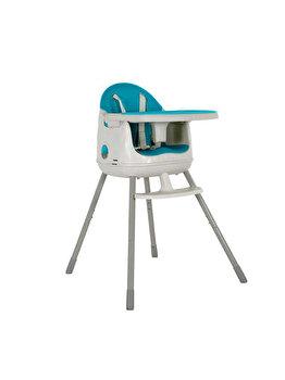 Scaun de masa MULTI DINE 3in1 pentru copii CURVER, 64 x 90 x 60 cm, plastic, Albastru
