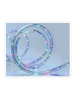 Instalatie luminoasa Koopman Int., 24 LED, 9 m, plastic, Albastru imagine 2021