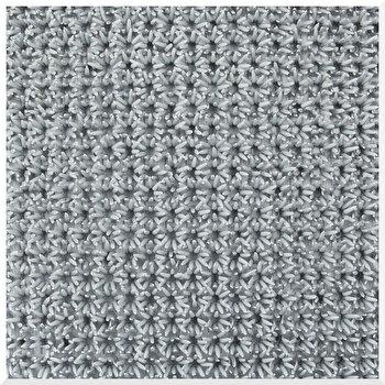 Covoras Intrare Finnturf CT173-120103, 91 x 100 cm, polietilena, Gri elefant