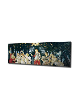 Tablou decorativ, Vega, 265VGA1284, 30 x 80 cm, CANVAS, Multicolor imagine