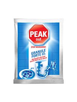 Granule pentru dezfundat tevi Peak Out, apa rece, 60 g imagine