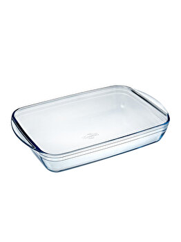 Vas termorezistent 35x22 cm Glassware Range, Ocuisine, 40603, sticla termorezistenta, Incolor imagine
