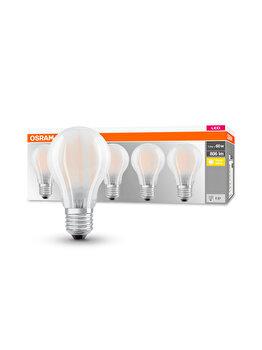 Set 5 becuri Led Osram, E27, 7W, 806 lumeni, lumina calda imagine