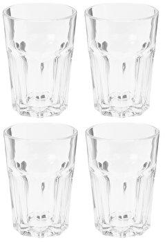 Set 4 pahare pentru apa, Excellent Houseware, 360 ml