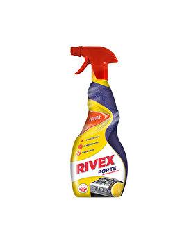 Solutie superdegresanta forte Rivex, pentru aragaz, 750 ml
