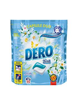 Detergent capsule Dero Iris Alb, 15 spalari imagine