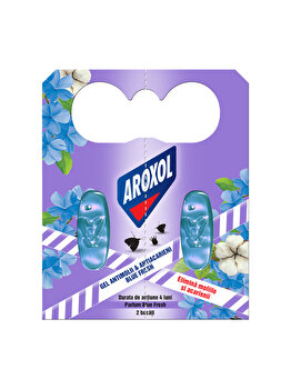 Gel antimolii si acarieni Aroxol, fresh, 2 buc imagine