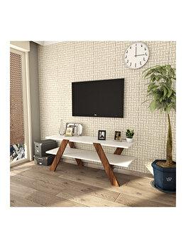 Comoda TV, Almaren Basic, 45 x 120 x 33 cm, 893RAN3112, pal melaminat, Multicolor elefant