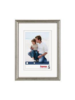 Rama foto Hama Oregon, 64906, 13 x 18 cm, lemn, Argintiu imagine
