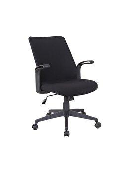 Scaun birou US120 Cape, negru imagine