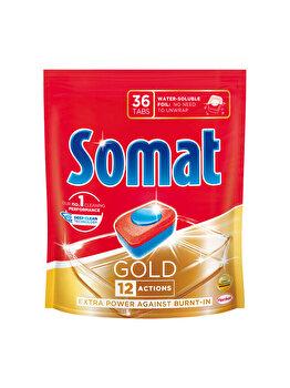 Detergent pentru masina de spalat vase Somat Gold Doypack, 36 tablete imagine