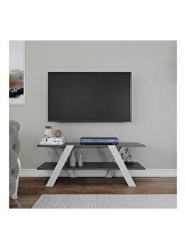 Comoda TV, Kalune Design, 120 x 33.1 x 45 cm, 854KLN3024, pal melaminat, Multicolor elefant
