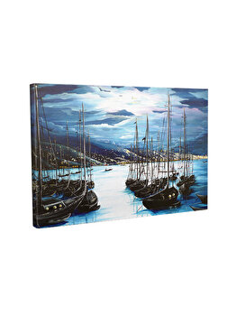Tablou decorativ, Vega, 265VGA1331, 30 x 40 cm, CANVAS, Multicolor imagine