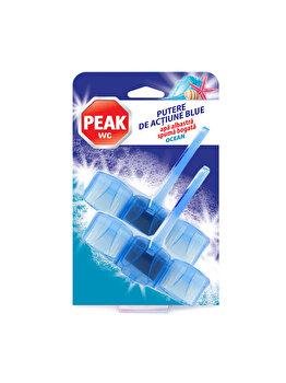 Odorizant Peak WC Putere de actiune, blue ocean, 2 x 45 g imagine 2021