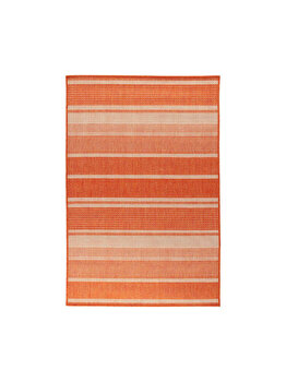 Covor Modern & Geometric Elston, Decorino, C116-032502, 67 x 120 cm, polipropilena, Portocaliu