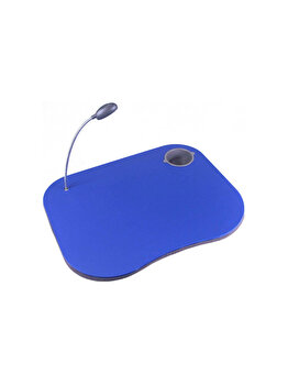 Masa portabila Jocca, 8 x 48.5 x 39 cm, 1.21 kg, plastic, Albastru