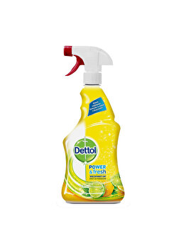 Spray multifunctional Dettol Trigger Power & Fresh, Sparkling Lemon & Lime Burst, 500 ml imagine