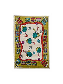 Covor Copii & Tineret Klarisa, Multicolor, 67x120 cm, C116-032218
