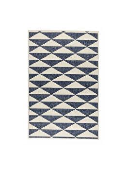 Covor Reversibil Modern & Geometric Margaret, Albastru, 160x235 cm, C97-032707