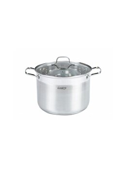 Oala inox + capac Cooking by HEINNER, 26x19cm, 10 L, Rina imagine 2021