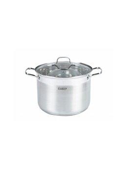 Oala inox + capac Cooking by HEINNER, 26x19cm, 10 L, Rina