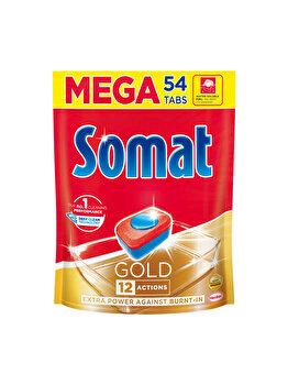 Detergent pentru masina de spalat vase Somat Gold Doypack, 54 tablete imagine